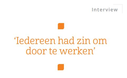 Quote Bart Jan van Trommel NVP Magazine